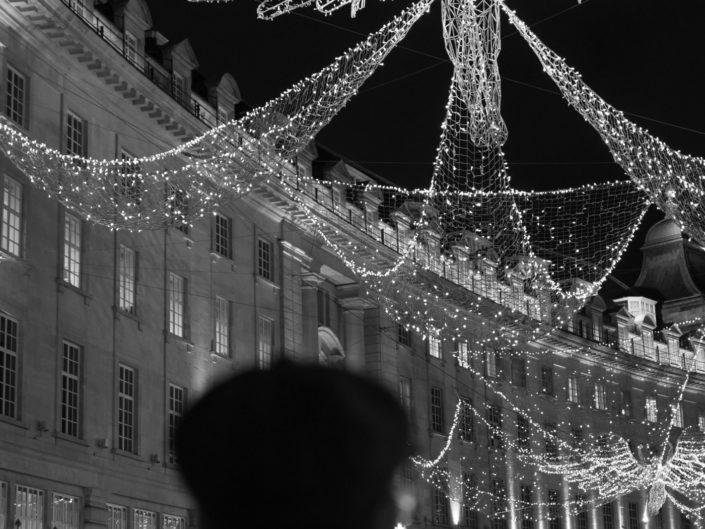 Tourist on Regent Street