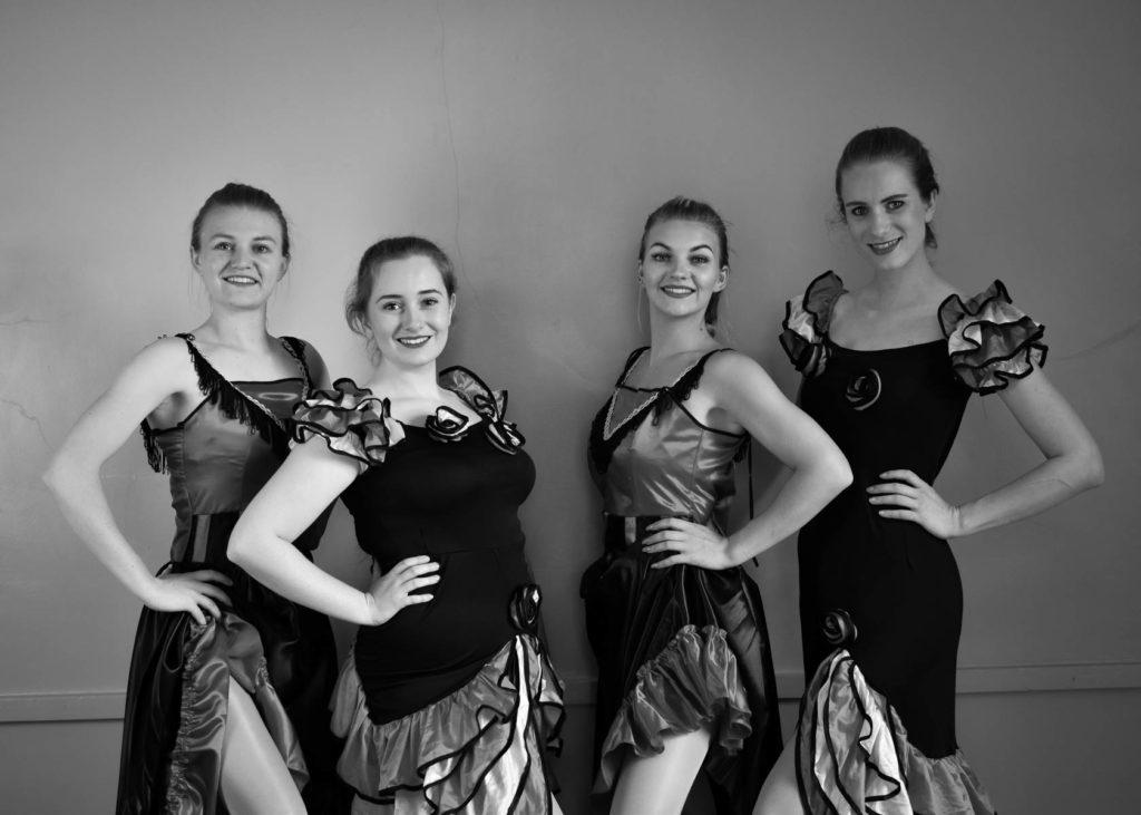 Dancer class portrait
