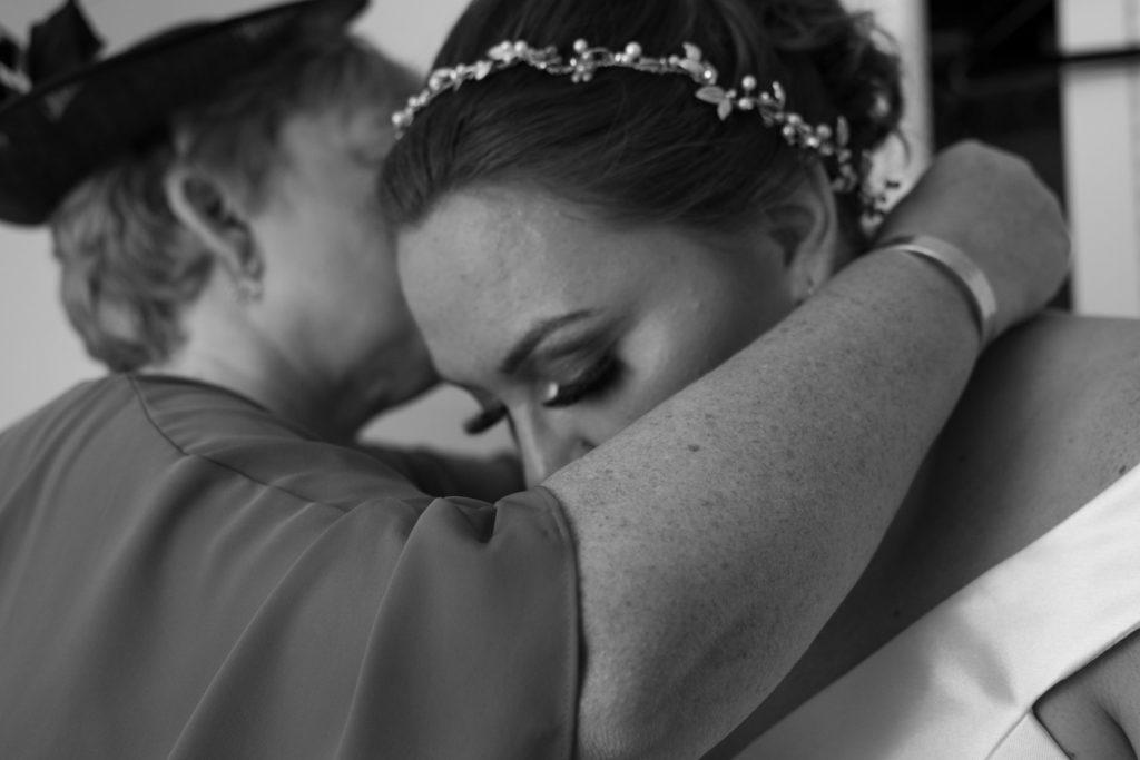 Brides final prep