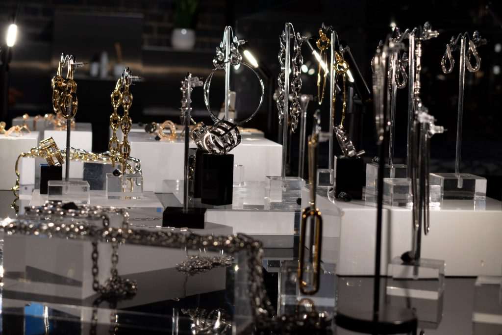Ille Lan Jewellery stand in Wolf and Badger London